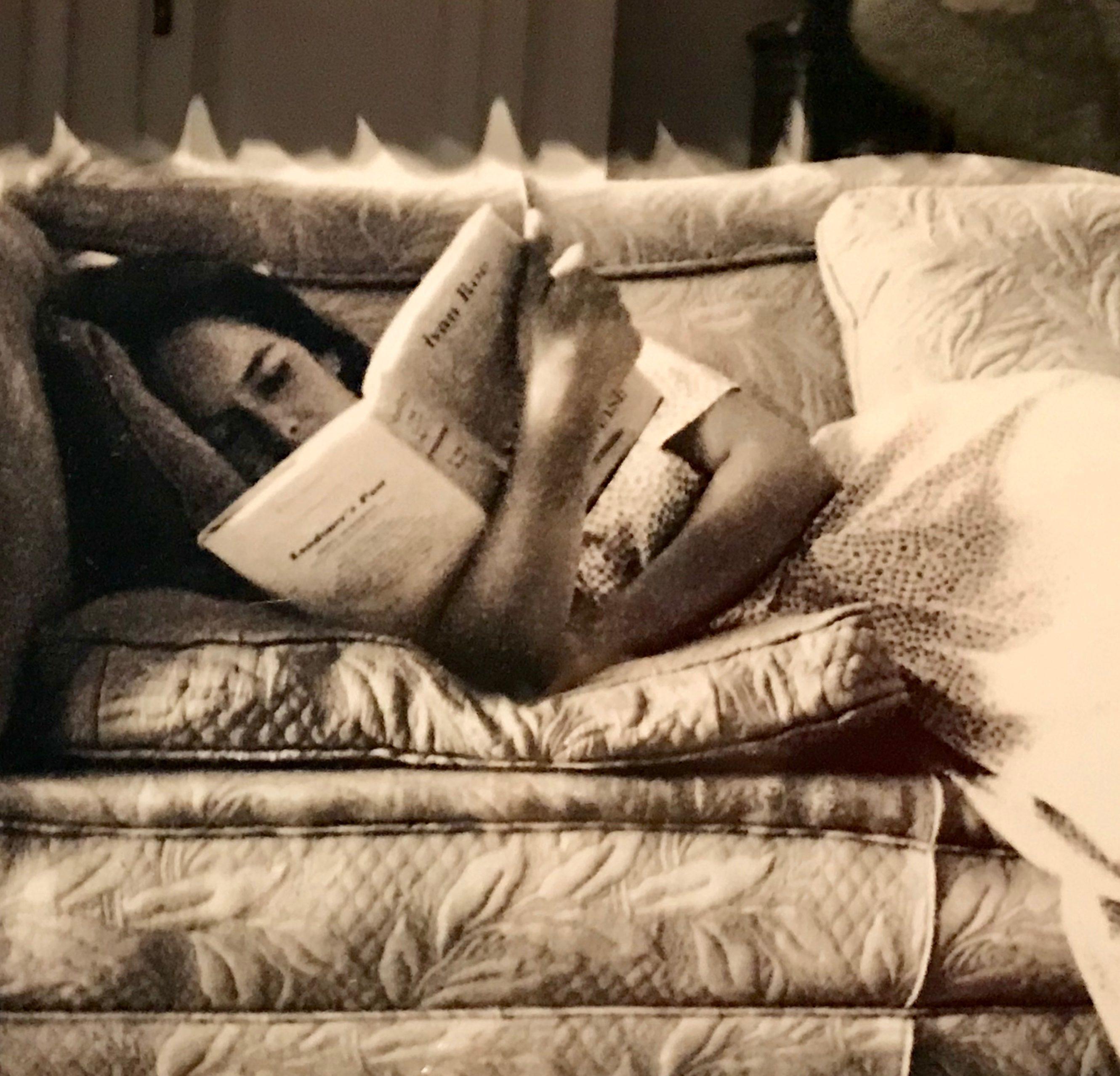 Elle a lu